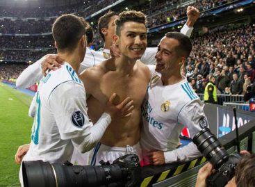 Cristiano metió al Real Madrid en semifinales de Champions
