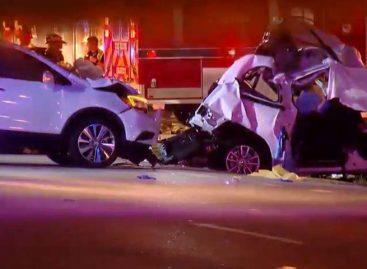Cuatro muertos en un accidente de tráfico en una carretera del sur de Florida
