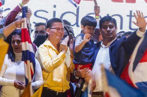Carlos Alvarado venció en las elecciones presidenciales de Costa Rica