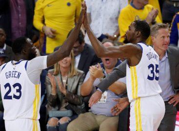 Golden State consiguió su pase a las semifinales de la NBA