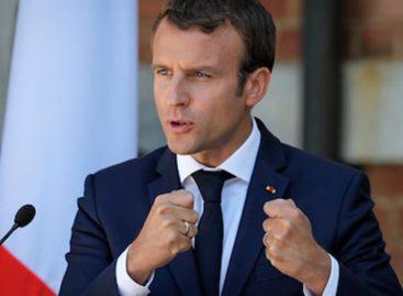 "Macron afirmó que Francia ""no ha declarado la guerra a Siria"""