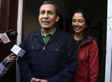 Tribunal Constitucional revocó prisión preventiva de Humala y su esposa