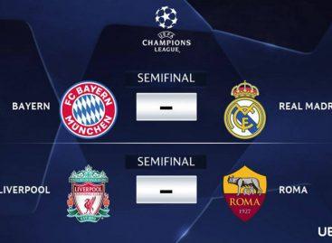 Real Madrid y Bayern se medirán en semifinales de la Champions