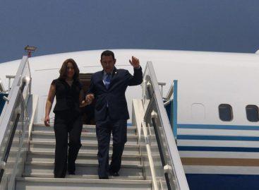 Presidente de Guatemala llegó a Israel para inaugurar Embajada en Jerusalén
