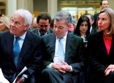 Unión Europea aplaudió a Santos su legado de paz en Colombia