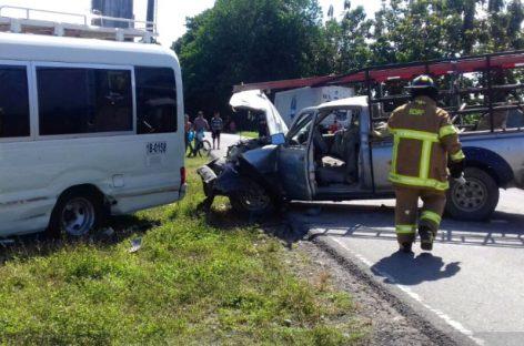8 heridos tras accidente en Bocas del Toro