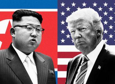 Trump: funcionarios de Estados Unidos están en Corea del Norte para cumbre