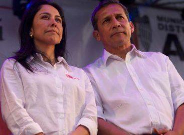Ollanta Humala y su esposa salieron de prisión