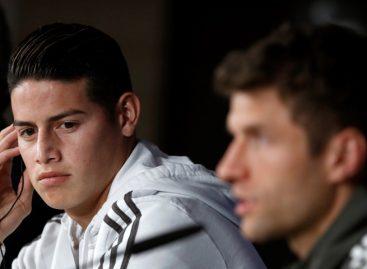 James: No tengo absolutamente nada en contra de Zidane