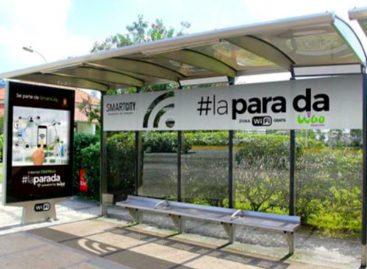 Amplían cobertura de wifi en paradas de la ciudad capital