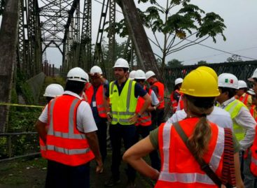 Avanza proyecto de puente binacional con Costa Rica