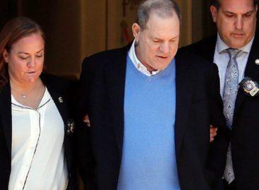 Harvey Weinstein se declaró no culpable y establecen su fianza en 10 millones de dólares  (+Video esposado)
