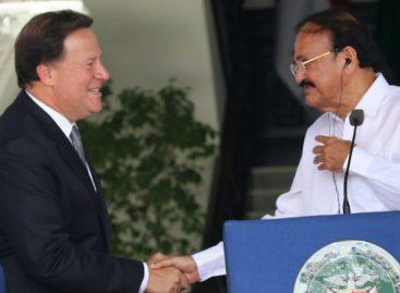 Varela pone a Panamá a disposición de la India como puerta de entrada para la región