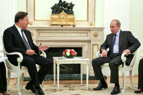 Descartan visita de Vladimir Putin a Panamá