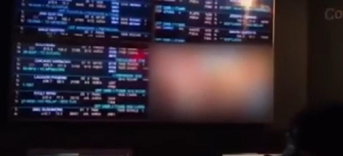 ¡Qué pena! Proyectan película porno en pantallas del Centro de Visitantes de Miraflores