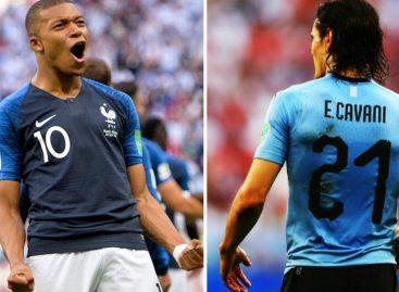 Francia y Uruguay son los primeros clasificados a los Cuartos de Final