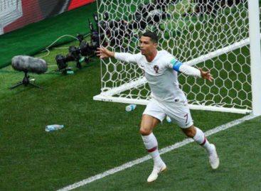 Cristiano Ronaldo marcó su cuarto gol del Mundial y Portugal venció a Marruecos