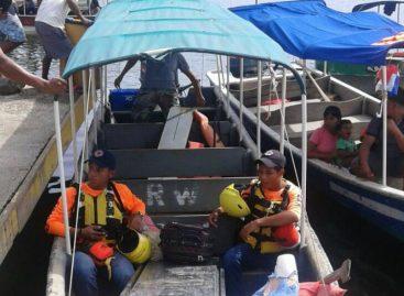 Senan mantiene búsqueda de lancha desaparecida en Bocas del Toro