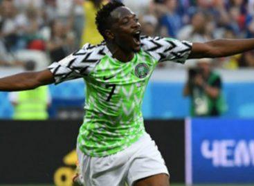Ahmed Musa no creyó en vikingos y con doblete le dio el primer triunfo a Nigeria