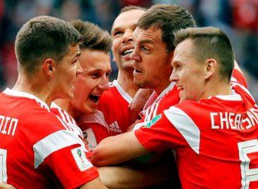 Cheryshev y Rusia golpean primero en el Mundial