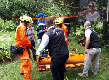 Encuentra con vida a estadounidense desaparecida en Boquete: Cayó en un precipicio