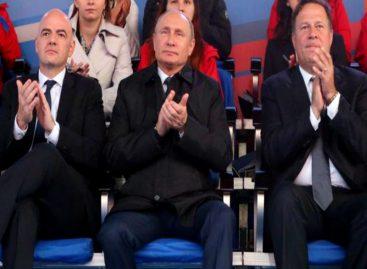 Putin y Varela se encuentran en concierto de apertura del Mundial Rusia 2018