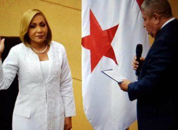 Yanibel Ábrego fue reelecta presidenta del Parlamento