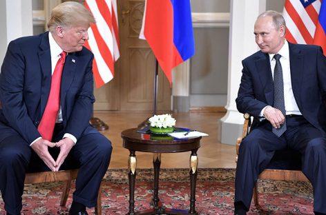 """Trump dice que se """"expresó mal"""" sobre la injerencia rusa en elecciones"""
