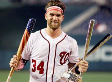 Bryce Harper se consagró en el Home Run Derby