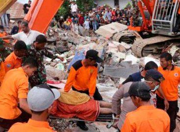 Terremoto de 6,4 dejó 14 muertos y 162 heridos en Indonesia