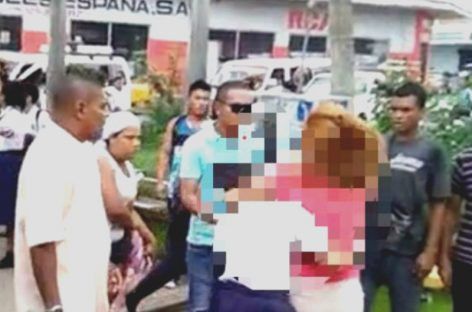 Detenida mujer que agredió a estudiante en La Chorrera