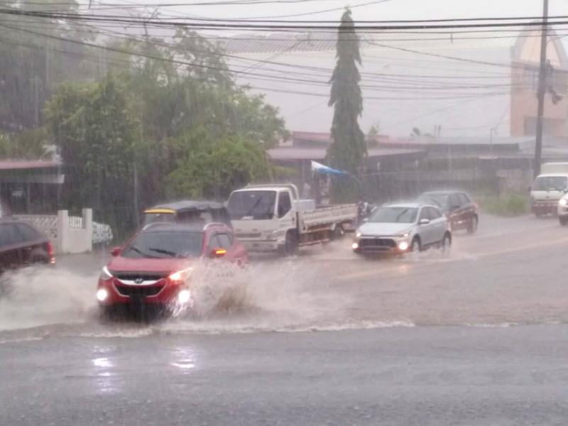 tormenta en Panamá