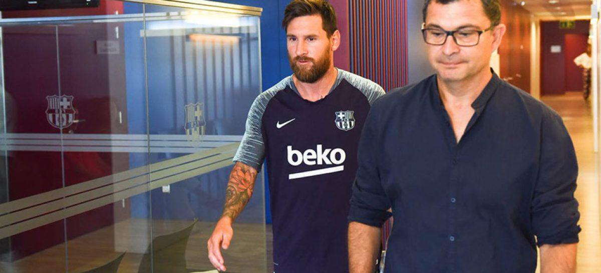 Lionel Messi pasó revisión médica y se entrenará con Barcelona
