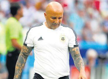 La AFA oficializó la salida de Jorge Sampaoli como DT de Argentina