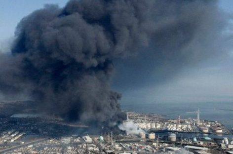 Incendio en edificio de Tokio provocó muerte de cuatro obreros