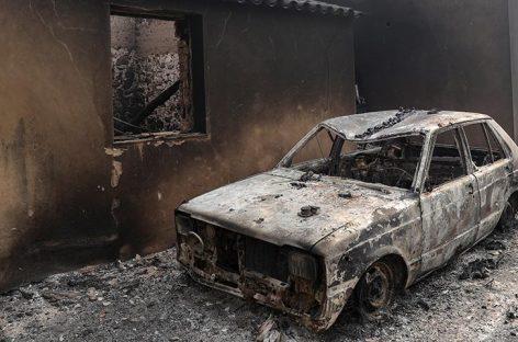 Incendio de El Algarve ha dejado 44 heridos y continúa activo