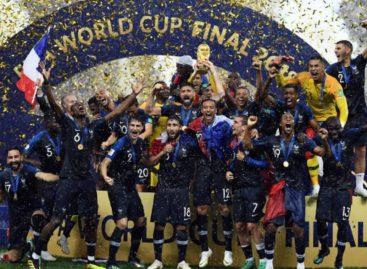 Francia escaló hasta el primer puesto del ranking FIFA