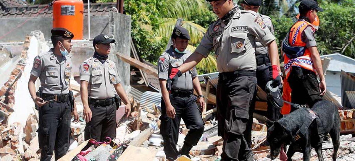Indonesia elevó a 259 el número de muertos por terremoto