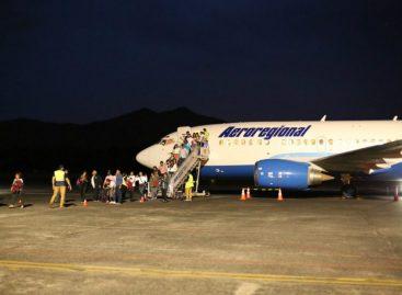 Aeroregional inaugura vuelos chárter entre Panamá y Ecuador