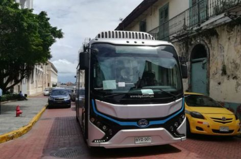 Bus eléctrico circulará por Casco Antiguo desde el 6 de agosto