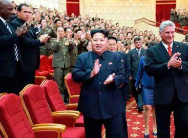 Díaz-Canel recibió mensaje del norcoreano Kim Jong-un