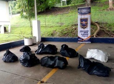 Hallan 190 paquetes de droga en Isla Taboga