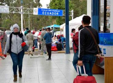 Ecuador extendió hasta septiembre estado emergencia por venezolanos