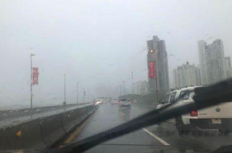 Piden precaución a la población por lluvias y tormentas en el país en las próximas 72 horas