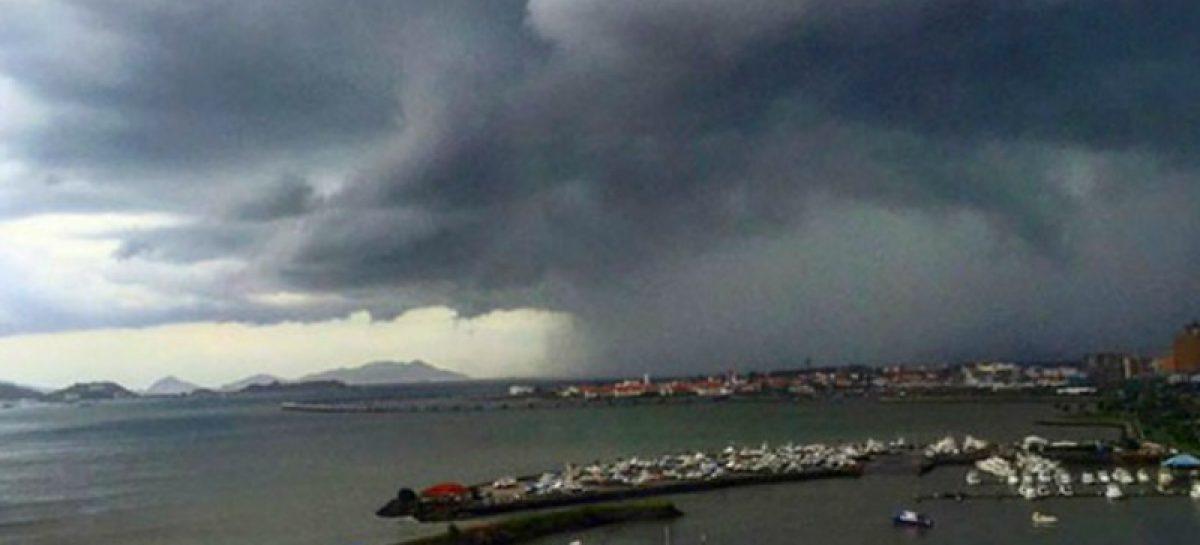 Emiten aviso de vigilancia por lluvias y tormentas hasta el 12 de abril
