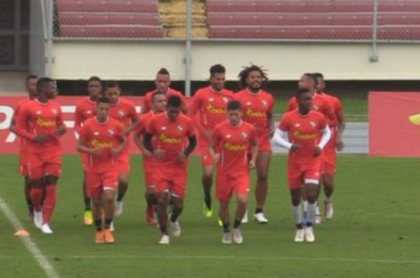 La Selección de Panamá se prepara para amistoso contra Brasil