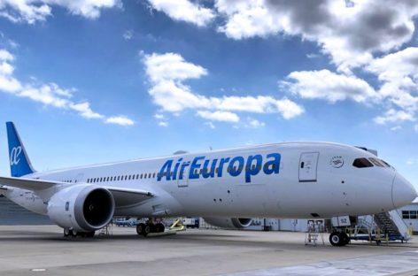 Primer vuelo de Air Europa a Panamá arribó a Tocumen