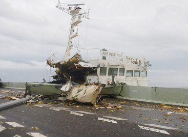 El tifón Jebi golpeó con violencia el oeste de Japón