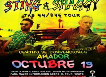 Panamá se prepara para recibir a Sting el próximo 19 de octubre