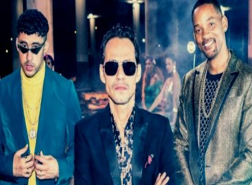 Will Smith lanzó canción con Bad Bunny y Marc Anthony